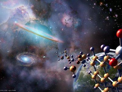 La Vida llovió en forma de moléculas durante millones de años