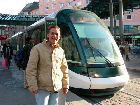 Carlos Jesús Ibarra Castellanos en su amada Estrasburgo