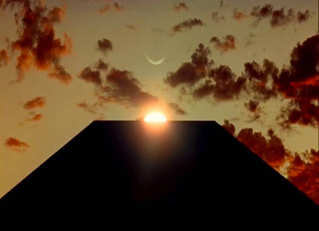 """El famoso monolito de """"2001, Odisea del Espacio"""""""