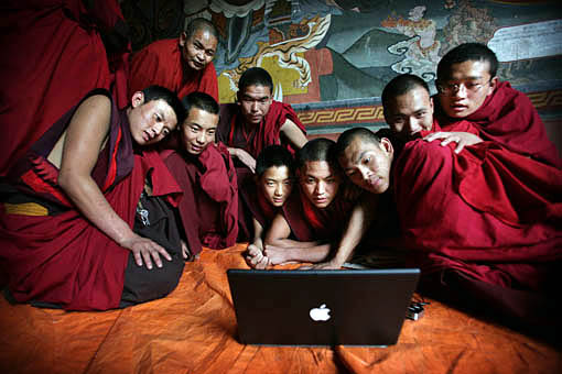 Los monjes de Clarke exhiben una inusual perspicacia