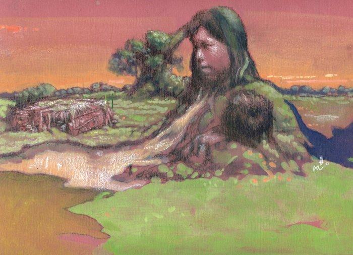 Los humanos -egocéntricamente- nos creemos los únicos hijos de la Madre Tierra