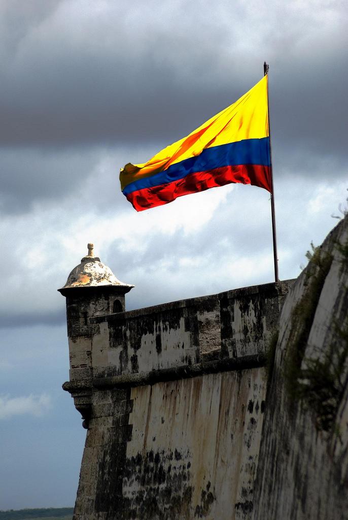 bandera de colombia. la andera de Colombia