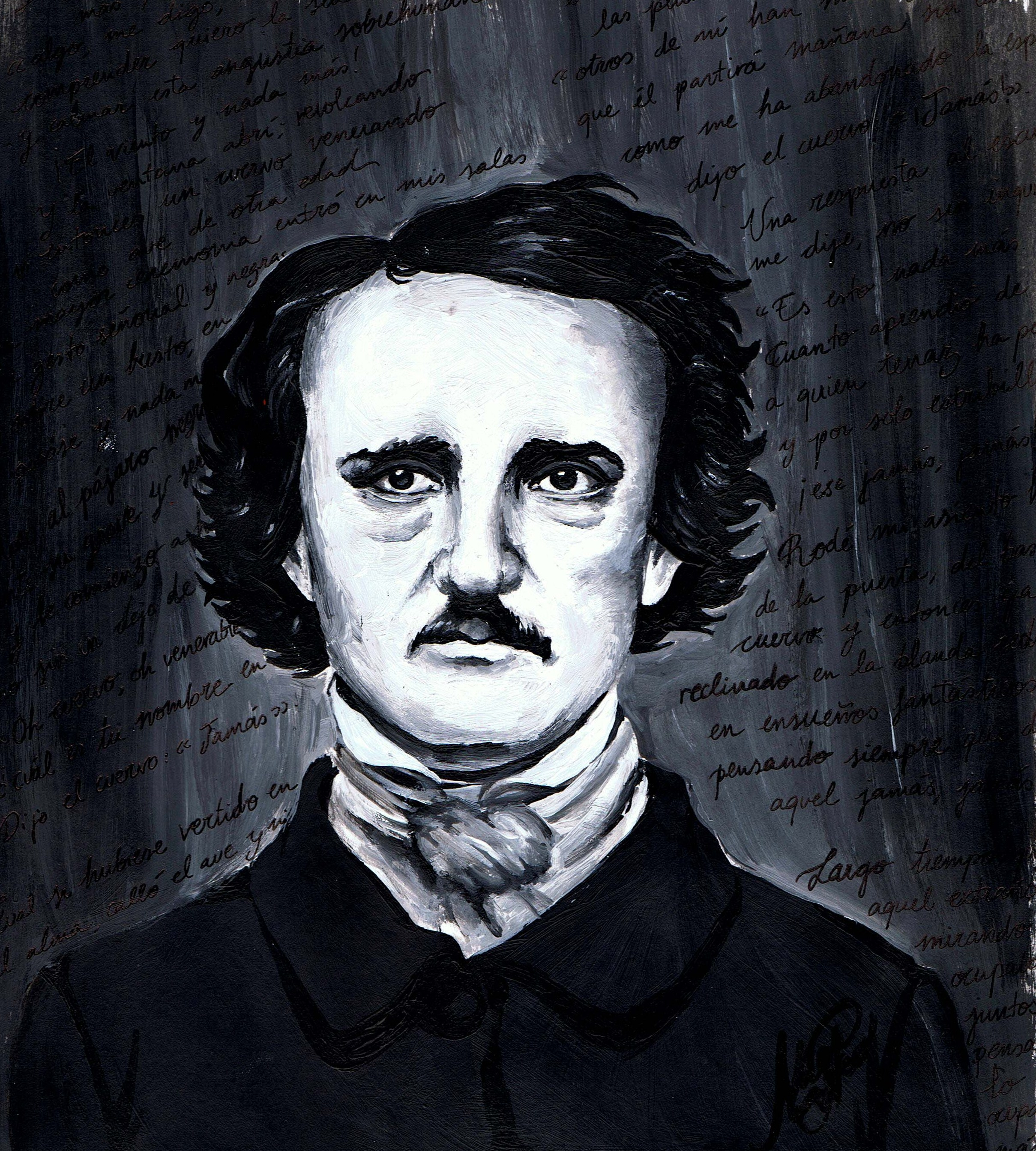 edgar allen poe writing Edgar allan poe: edgar allan poe (1809–49) was an american writer and poet who invented the modern detective story and created enduring tales of horror.