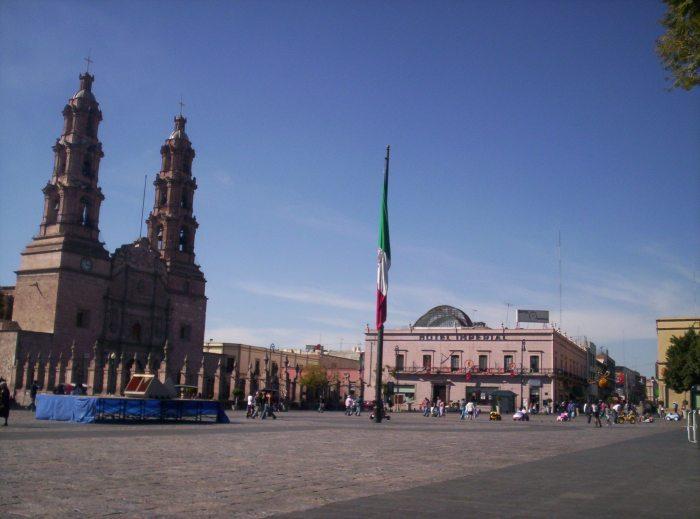 Vista de Aguascalientes, México