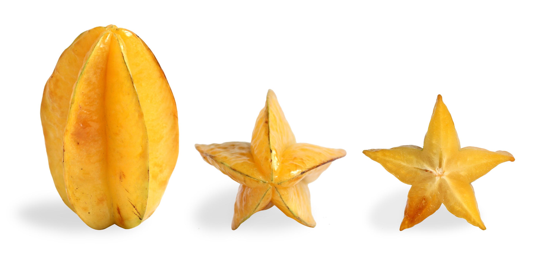 Carambola Tamarindo chino Fruta estrella