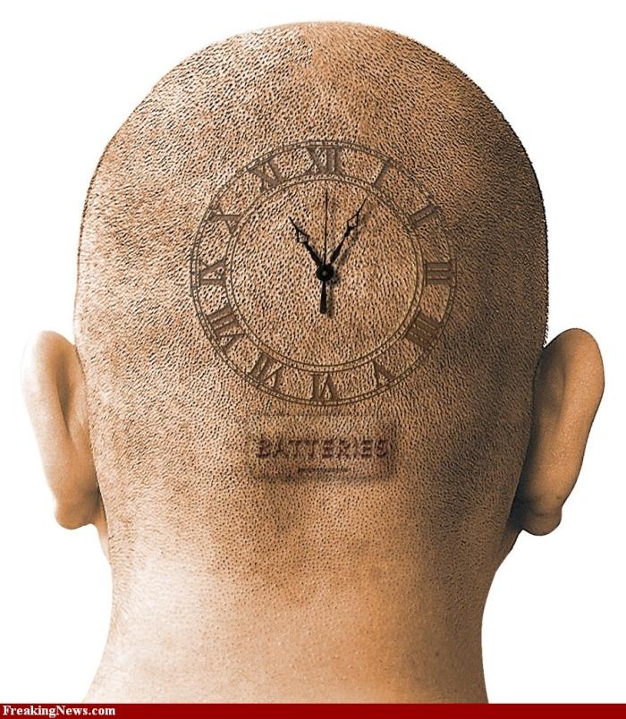 Reloj en la nuca