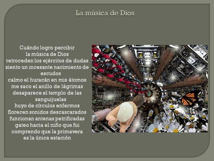 La música de Dios