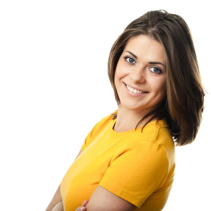 mujer sonriente 4