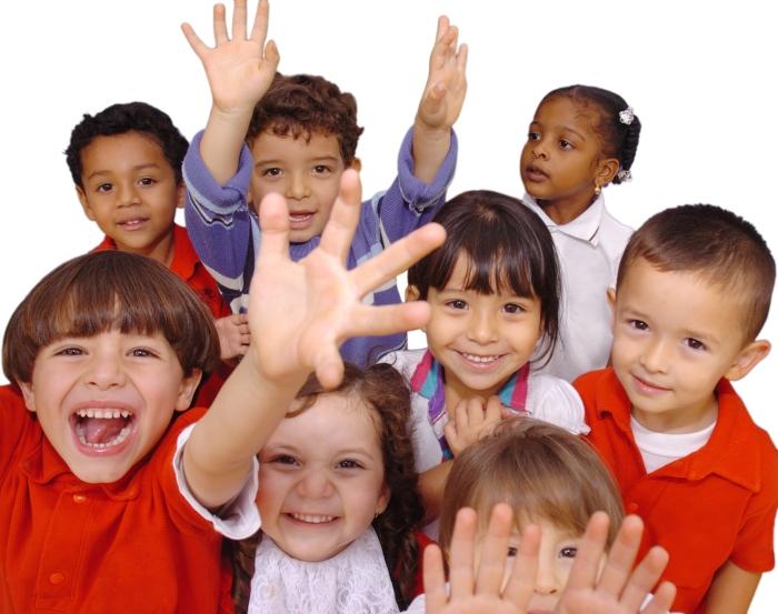 niños en paz