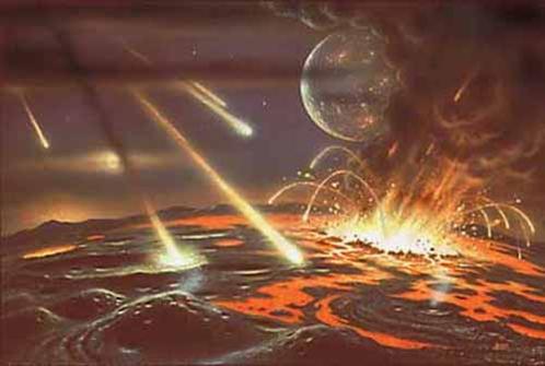 armagedón meteorito