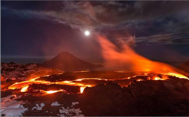 erupción volcánica del pérmico