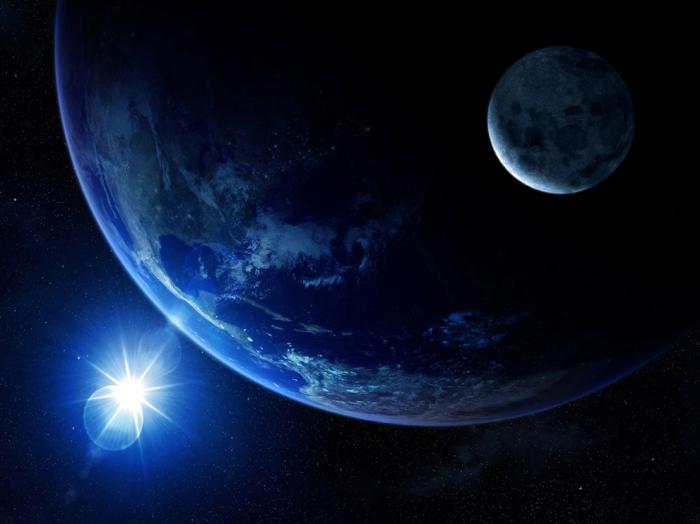 planeta azul la tierra