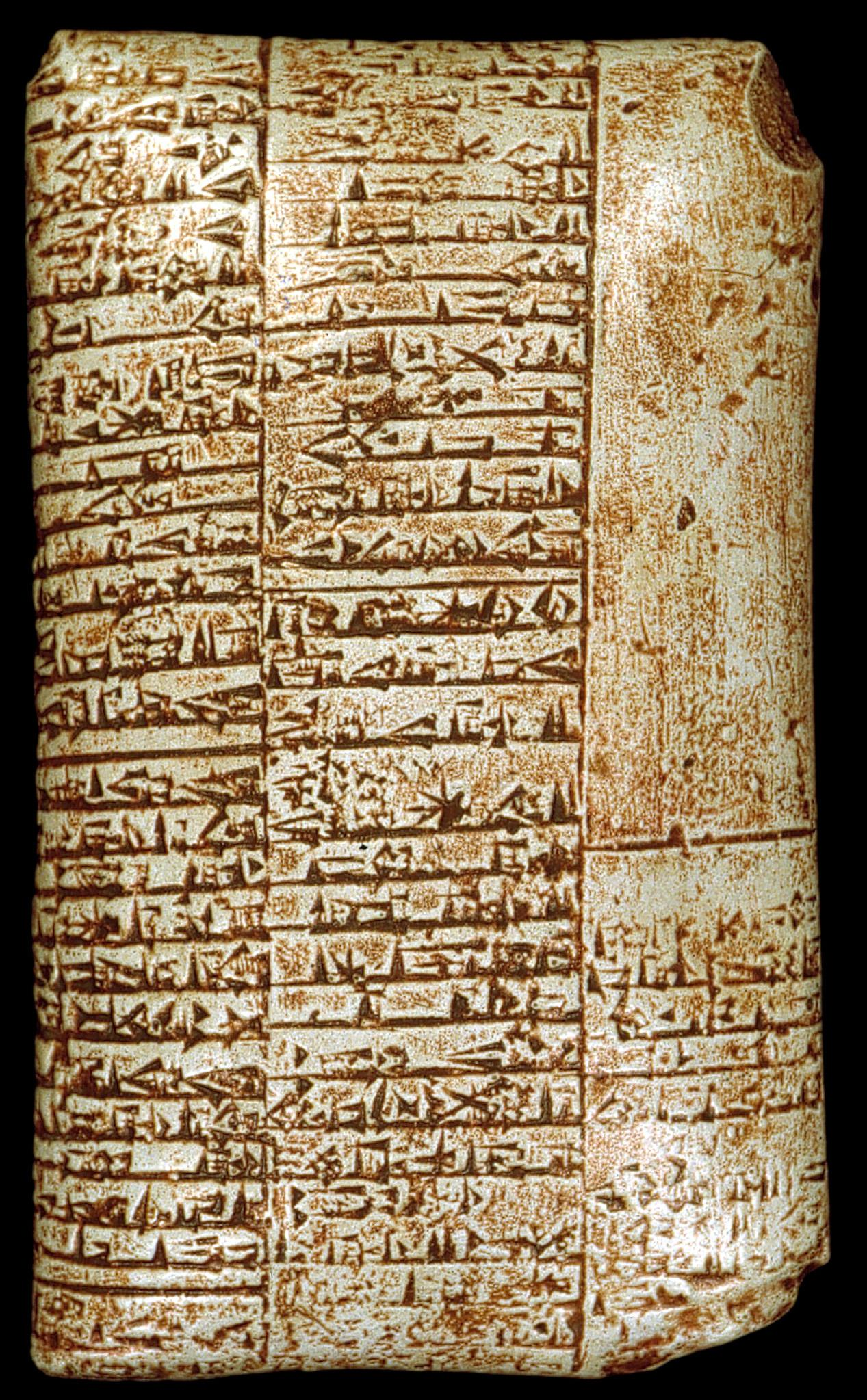 tablilla sumeria