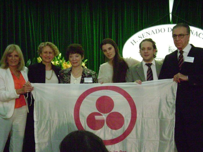 bandera de la Paz, foto