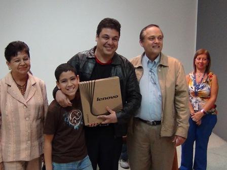 Carmelo Urso junto a su hijo Juan Rodrigo