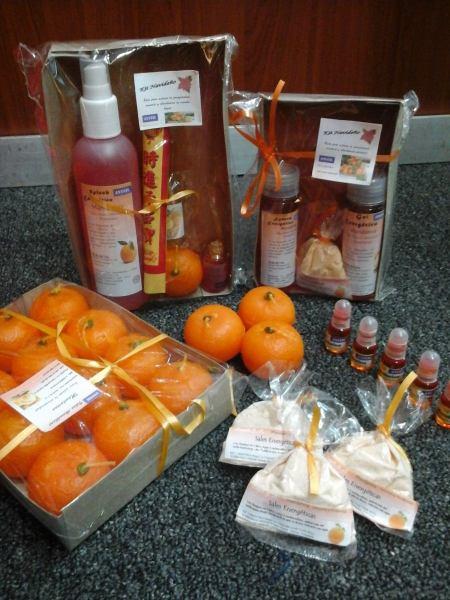 kit espiritu de navidad mandarina