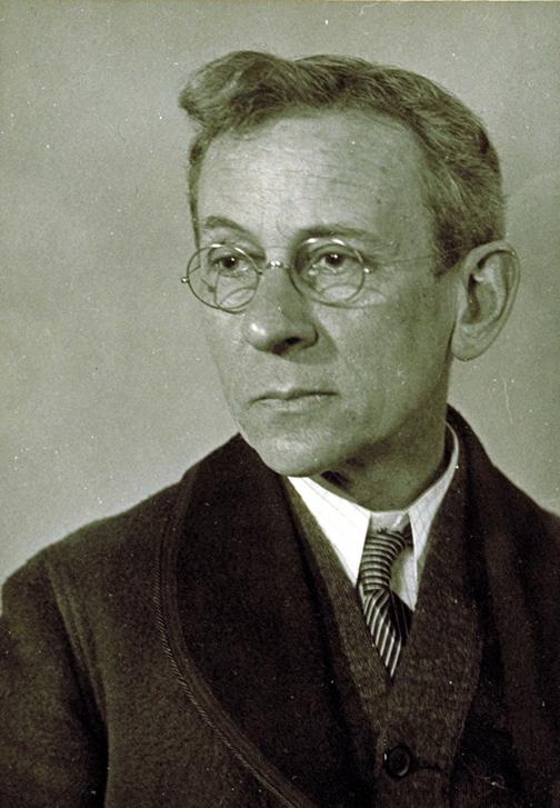 Lewis Hine (autoretrato)