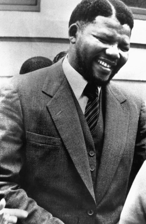 Nelson Mandela joven