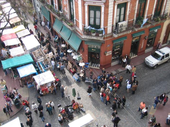 San Telmo Plaza Dorrego