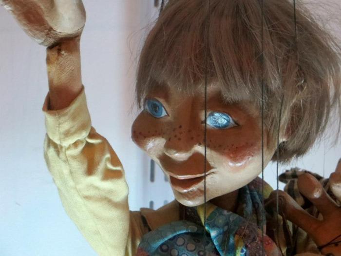 Títere Marioneta de Australia sala Internacional