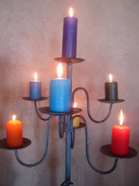 velas candelabro