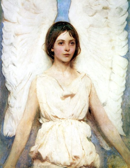 Abbott Handerson Thayer, Angel, 1889