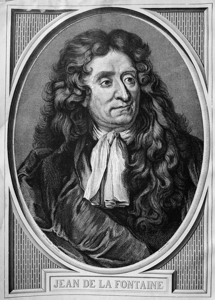 Jean De La Fontaine por Gustavo Doré