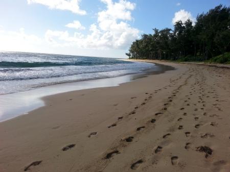 Escritura De La Mano Te Amo En La Arena Y La Playa Imagen: HUELLAS EN LA ARENA (UNA PARÁBOLA)