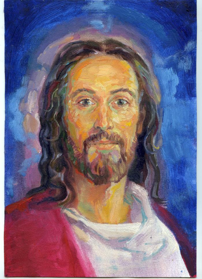JESÚS EN ACUARELA