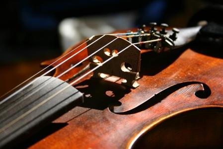 violín viejo