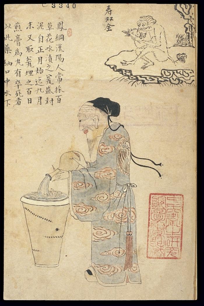 médicos chinos antiguos