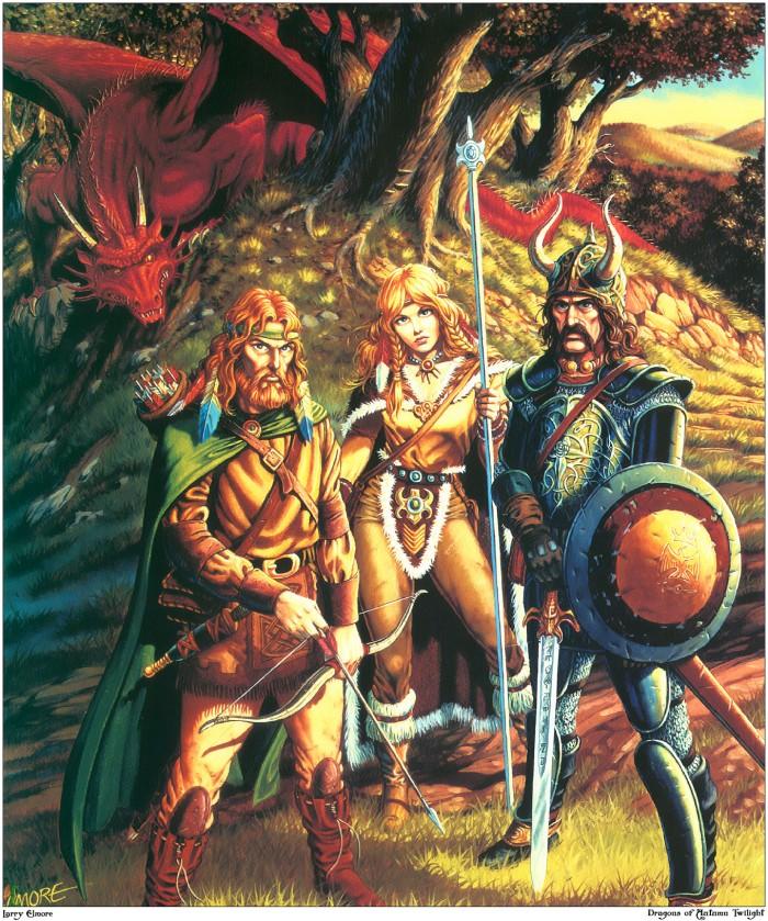 dragonlance-tanis-goldmoon-sturm