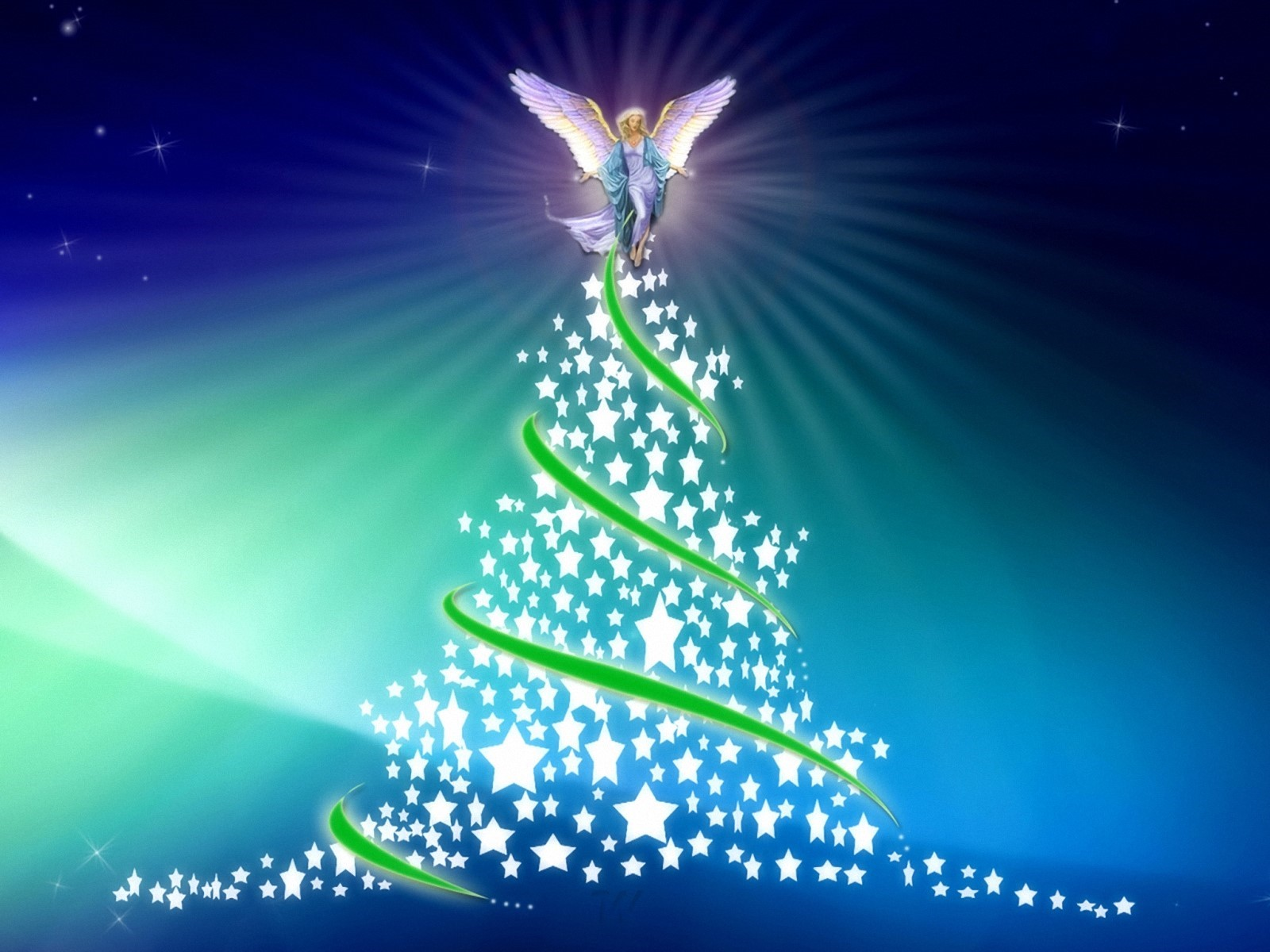 Fondoshd mx fondo de pantalla angel de navidad 1600x1200 for Wallpaper en movimiento